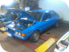 Vw scirocco mk2 1.6 Honda turbo, emerald ecu mapping.