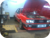 Audi 80 quattro k jet set up, propshaft removed!!